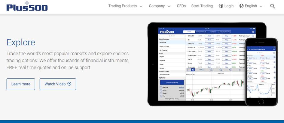 le broker plus500 améliore les conditions de trading du bitcoin